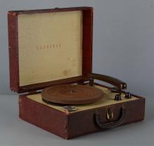 Cardinal Portable Phonograph
