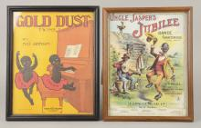 Lot Of 2: Uncle Jasper & Gold Dust Rag Sheet Music