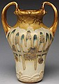 Amphora Cascading Wisteria Vase.