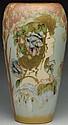 Amphora Ceramic Portrait Vase.