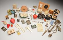 Lot of 27: Mostly Antique Sewing Items.