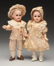Lot of 2: K & R Twin Dolls.
