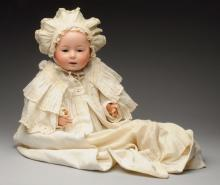 Large Bisque Head Baby Doll.