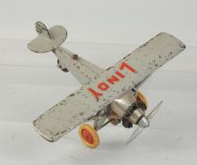 Hubley Large Lindy Airplane.