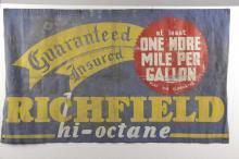 Richfield Hioctane Advertising Banner.