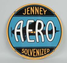 Jenny Aero Solvenized with Airplane Logo Sign.
