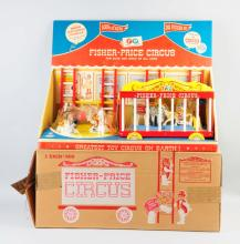 Fisher Price No. 900 Performing Circus Toy.