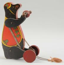 All-Fair Paper on Wood Circus Bear.