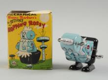 Marx Tin Litho Wind Up Rosey Robot Hopper.