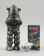 Lot of 3: Robby the Robot Themed Items.