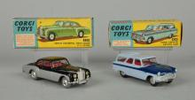 Lot Of 2: Corgi #224 Bentley & #424 Zephyr.