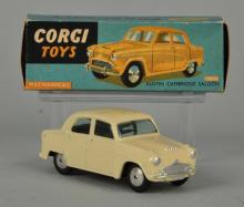 Corgi #201M Mechanical Austin Cambridge Saloon.