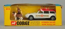 Corgi #513 Citroen Safari Alpine Rescue Car.