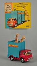 Corgi #503 Circus Giraffe Transporter w/ Giraffes.