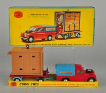 Corgi #19 Chipperfields Land-Rover & Cage Gift Set