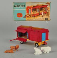 Corgi #1123 Chipperfield's Circus Animal Cage.