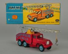 Corgi #1121 Chipperfield's Circus Crane Truck.