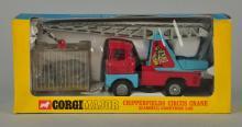 Corgi #1144 Chipperfield Circus Crane & Rhino Cage