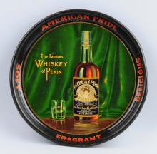 American Pride Whiskey Serving Tray.
