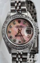 Rolex Ladies Stainless Steel Date Just.
