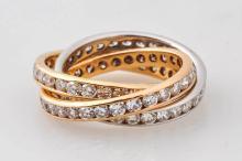 Diamond Rolling Eternity Ring.
