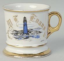 Lighthouse Shaving Mug.