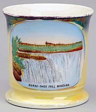 Horseshoe Falls Niagara Falls Shaving Mug.