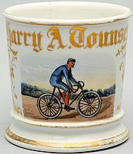 Bicycle Shaving Mug.