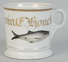 Fish Shaving Mug.