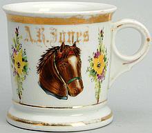 Horse Shaving Mug.