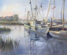 Hilarie Lambert - Sun Rising On The Creek
