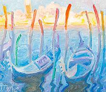 John Asaro - Venice Sunset