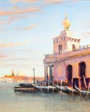 William Berra - Study for Customs House, Venice