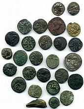 Miscellaneous, Seleucid drachms of Demetrius I (SMA 115) and Antiochus IX, 3rd r