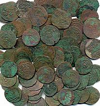 Chaghatayid, miscellaneous copper issues (96), mainly types of Kashgar, some wit