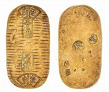 *Japan, koban, Bunsei (1819-28), 13.07g (JNDA 09-20; F. 14), very fine