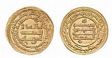 ‡ ABBASID, AL-MUKTAFI (289-295h), Dinar, Wasit 293h.