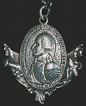 Battle of Copenhagen (?), Nelson Badge bearing the date of t