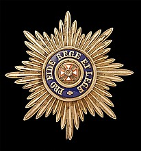 * Russia, Order of the White Eagle, breast star,