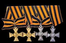 *Russia, Insignia of Distinction of the Military Order of St Geor