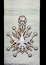 *Kingdom of Poland, Order of the White Eagle, a magnificent and l