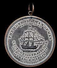 *Alexander Davison's(?) medal for the Battle of Trafalgar, 1805,