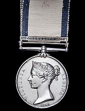 *Naval General Service 1793-1840, 1 clasp, Copenhagen (William Re