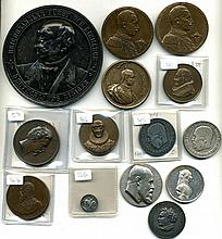 World -  Germany, various medals in silver (5), co