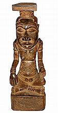 CARVED BAKONGA FIGURE