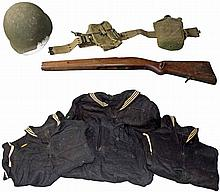 WWII ERA UNIFORMS AND ACCESSORIES