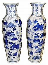 TWO LARGE CHINESE VASES