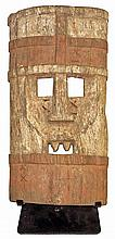 WOODEN NSEMBU MASK