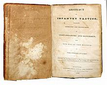 UNUSUAL 1830 UNITED STATES INFANTRY TACTICS MANUAL