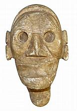 ARAWAK CARVED STONE HEAD
